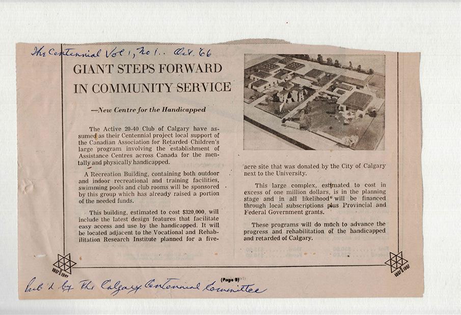 1965 - Centennial Program
