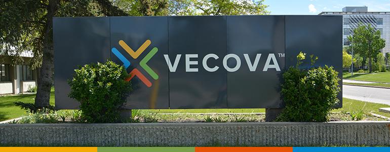 Vecova facility sign